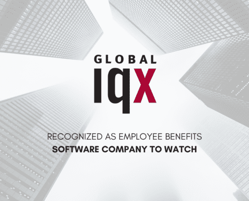 Cover image with Global IQX logo and skyscrapers in the background.